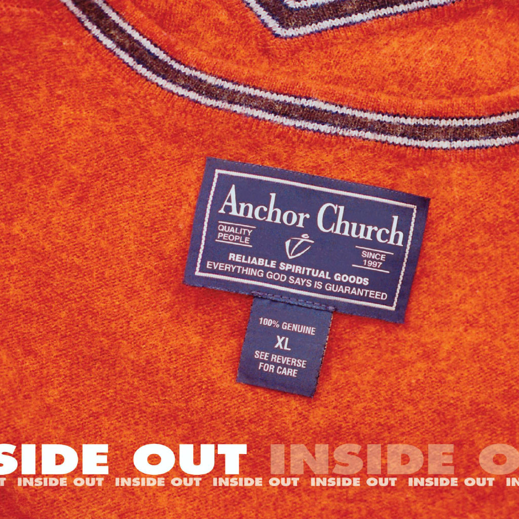 church direct mail print example