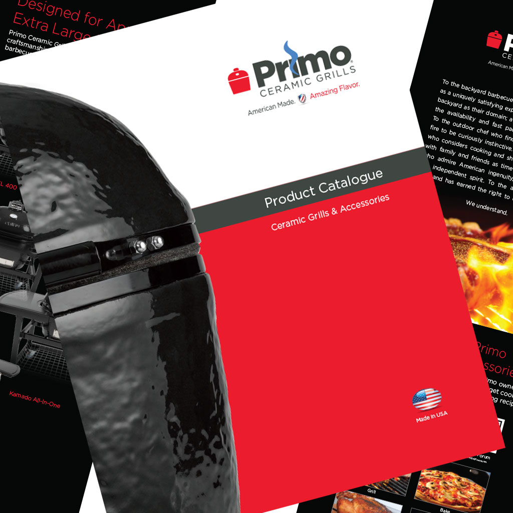 Grill company printed pieces