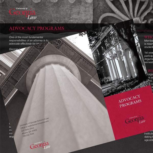 University of Georgia brochure