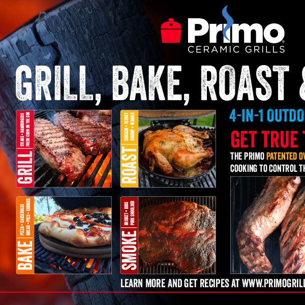 Grill company product insert