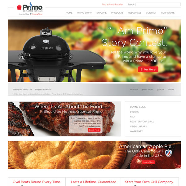 grill company website